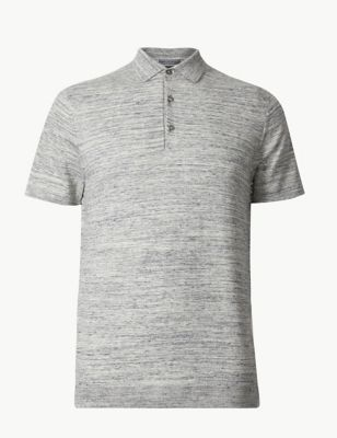 81d787a2e50b45 Cotton Rich Knitted Polo £19.50