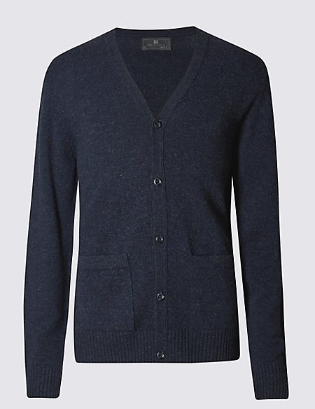 Pure Lambswool Cardigan