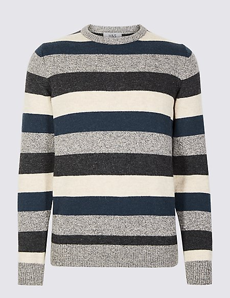 Lambswool Striped Jumper