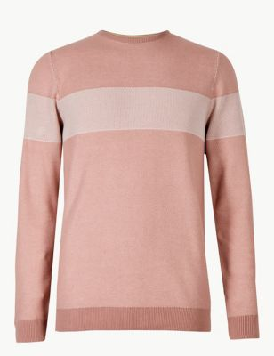 081b979899ee2d Pure Cotton Striped Jumper £25.00