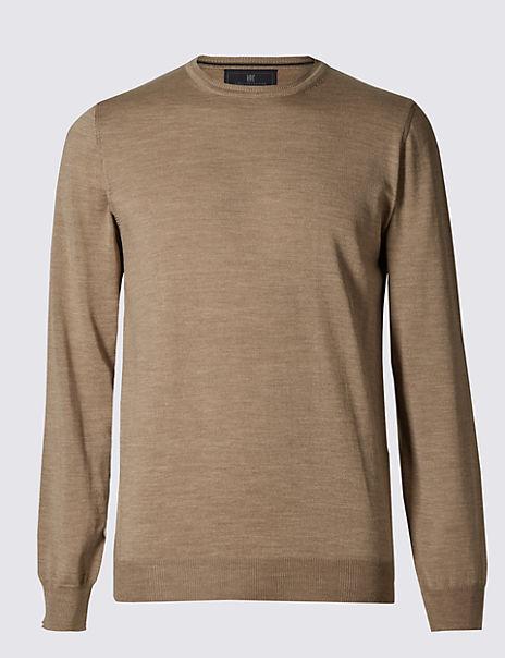 Merino Wool Rich Slim Fit Jumper