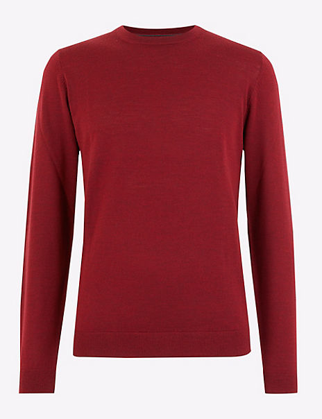 Supersoft Merino Wool Crew Neck Jumper