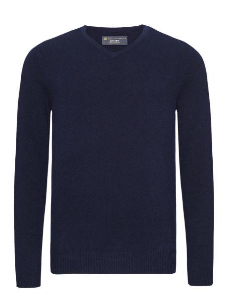 Luxury Pure Cashmere V-Neck Jumper