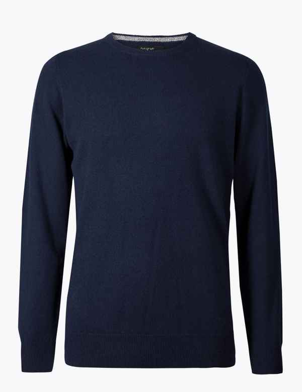 3113aac2 Pure Cashmere Crew Neck Jumper