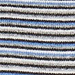 Pure Cashmere Striped Jumper, BLUE MIX, swatch