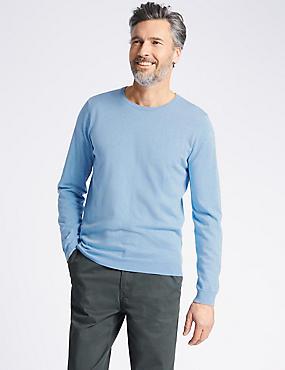 Cotton Cashmere Blend Jumper