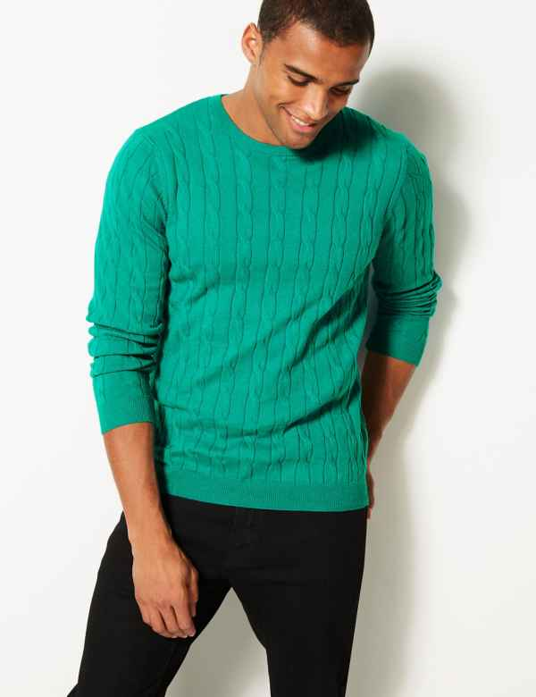 f685fd9a2200 Mens Crew Neck Jumpers   Cardigans