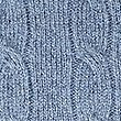 Merino Cable Knit Jumper with Yak, MEDIUM BLUE, swatch