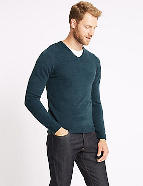 Cashmilon™ V-Neck Jumper