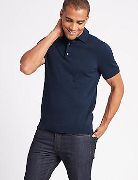 Cotton Rich Polo Shirt