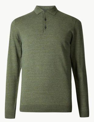 63a4127b2e037e Cotton Rich Knitted Polo £25.00