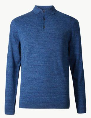 Cotton Rich Knitted Polo £25.00 c2a72da11