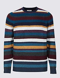 Striped Supersoft Jumper