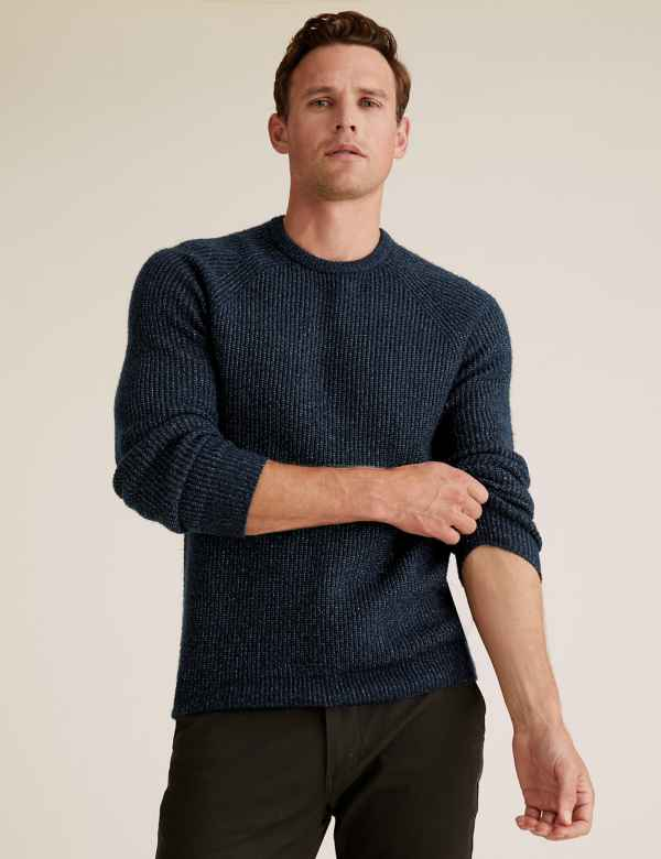 New In Men's Jumpers & Cardigans | M&S