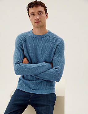 Superweicher Pullover mit Rundhalsausschnitt