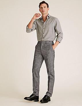 Pantalones De Vestir Hombre Marks And Spencer Es