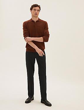 Grandes tailles – Pantalon coupe standard à carreaux