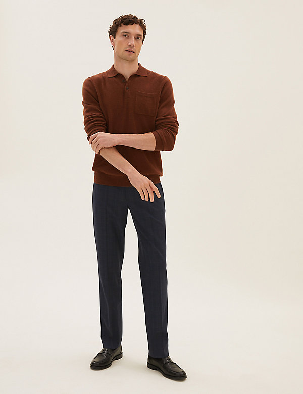 Regular Fit Check 360 Flex Trousers