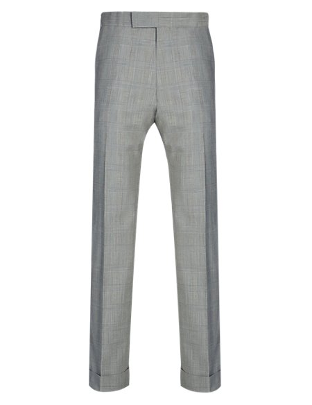 Best of British Prince of Wales Checked Trousers
