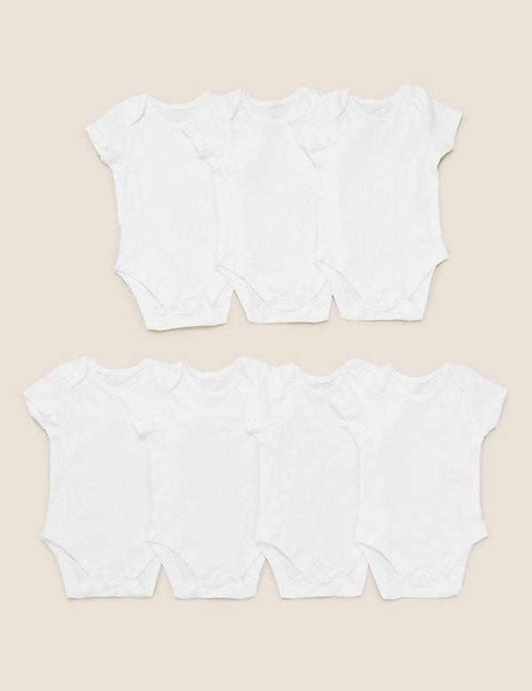 7er-Pack Bodys aus reiner Baumwolle (2,3 kg – 3 Jahre)