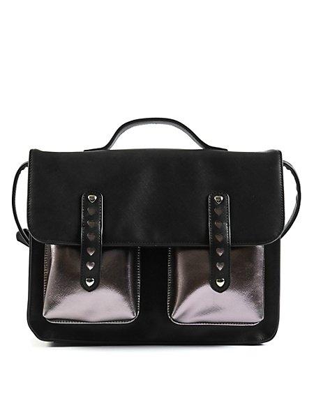 Kids' Double Bar Satchel Bag