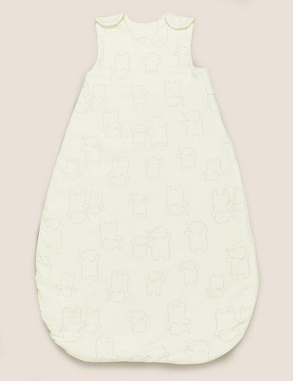 Schlafsack aus Bio-Baumwolle mit Tog-Wert 1,5 (0–36 Monate)