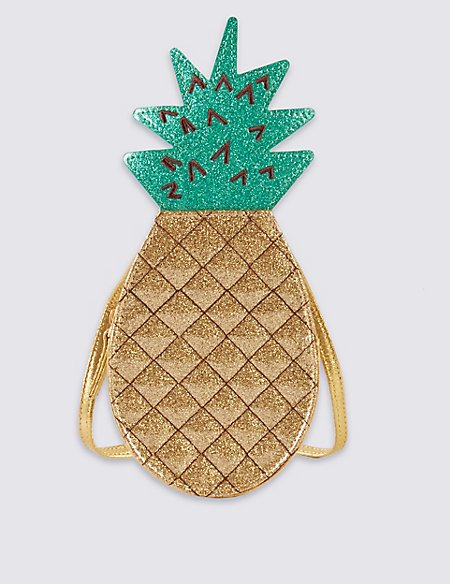 Kids' Pineapple Cross Body Bag