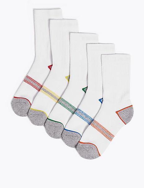 5 Pack Sports Socks