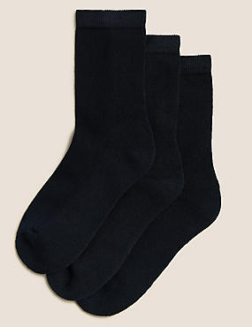 3 Pairs of Ankle School Socks (3-16 Years)