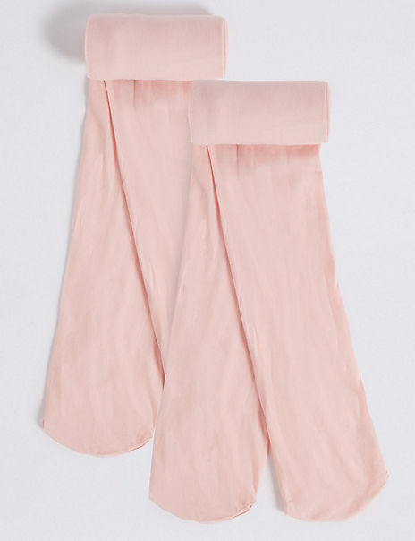 2 Pairs of Ballet School Tights (3-12 Years)