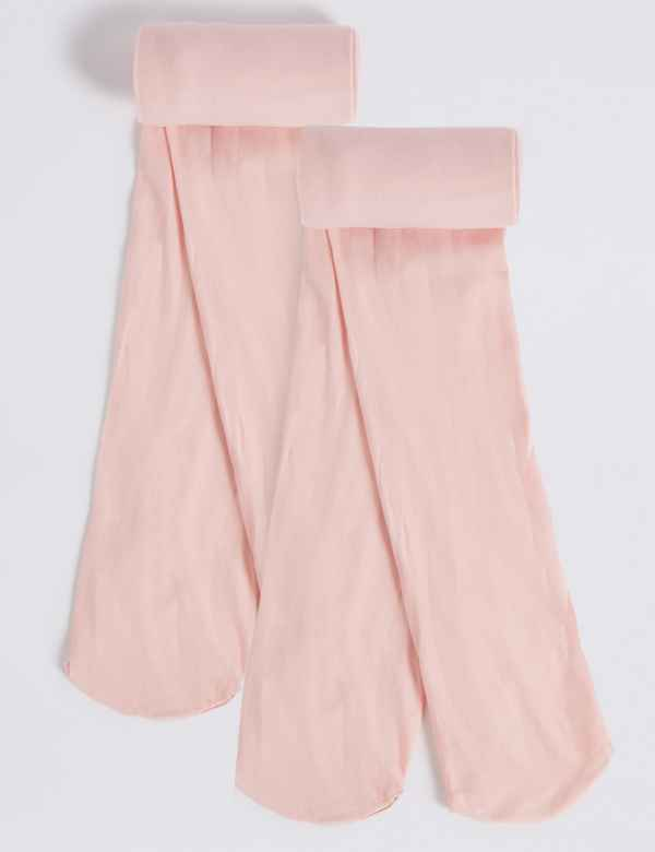 bd16729fb08 2 Pairs of Ballet School Tights (2-12 Years)