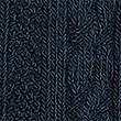 3 Pairs of Cable Knit Tights (4-14 Years), NAVY, swatch