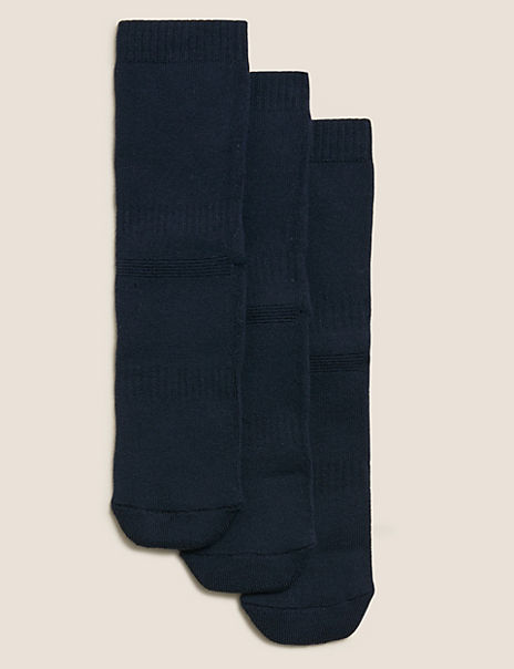 3 Pairs of Thermal School Socks