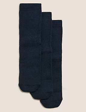 3 Pairs of Thermal School Socks (3-16 Years)