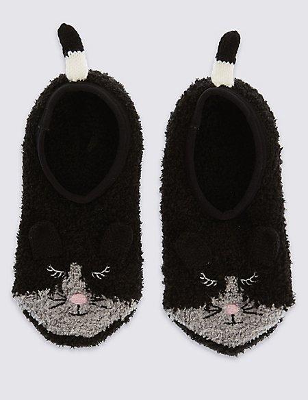 Freshfeet™ Mouse Cosy Footsies (5-14 Years)