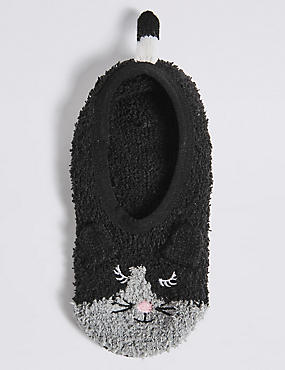 Mouse Footie Cosy Socks (3-14 Years)