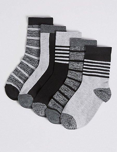 5 Pairs of Socks with Freshfeet™