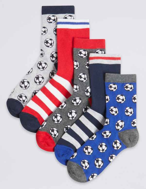 de0b5b6b4 5 Pairs of Football Sport Socks