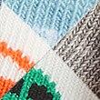 4 Pairs of Bus Print Baby Socks, MULTI, swatch