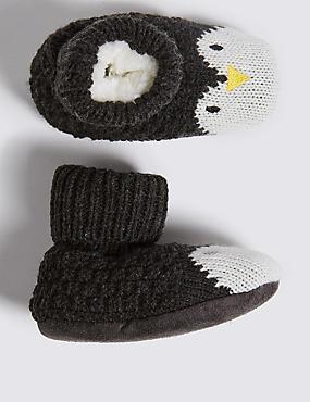 Penguin Booties (0 - 24 Months)
