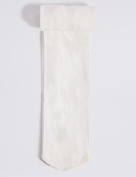 1 Pair of Opaque Tights (4-14 Years)