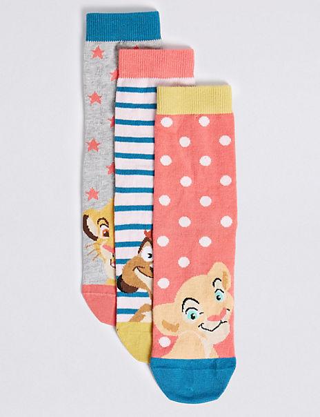3 Pairs of Lion King™ Socks