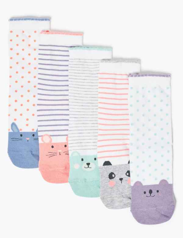 Essentials Kids 14-Pack Cotton Low Cut Sock