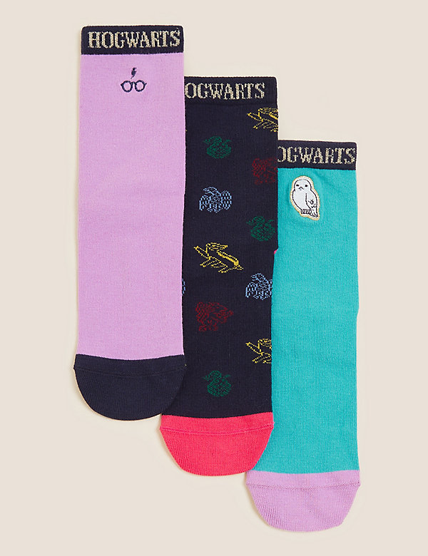 Harry Potter™ 3pk Cotton Socks