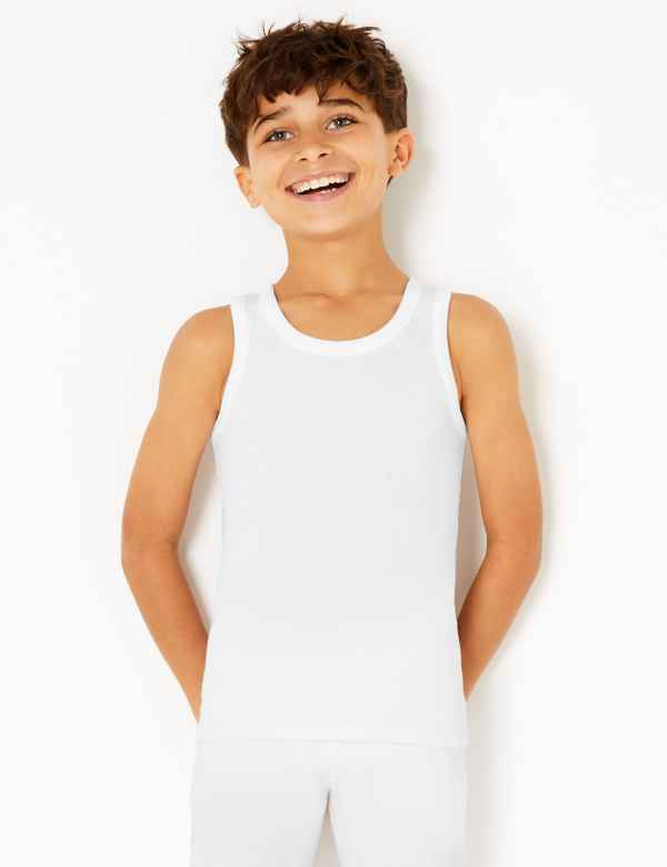 0ad00a7afff9d 2 Pack Thermal Vests (18 Months - 16 Years)