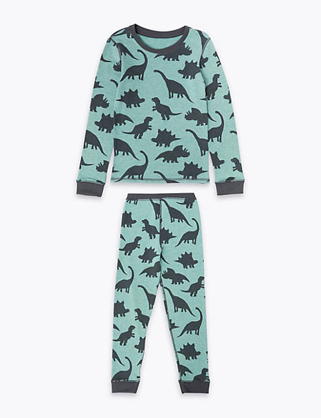 Thermal Dinosaur Pyjama Set (18 Months - 10 Years)