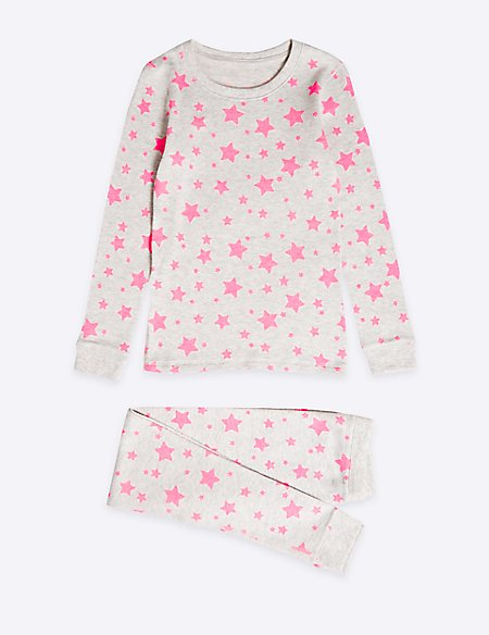 Star Print Thermal Set (18 Months - 16 Years)