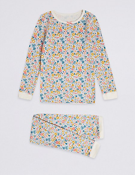 Floral Print Thermal Set (18 Months - 16 Years)