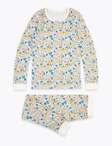Ditsy Floral Print Thermal Set (18 Months - 16 Years)