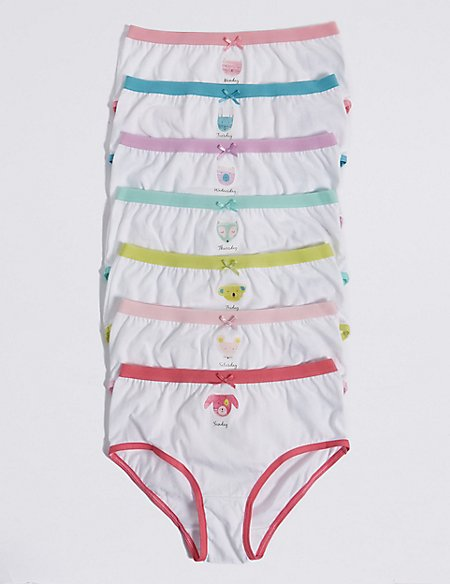7 Pack Pure Cotton Briefs (18 Months - 12 Years)